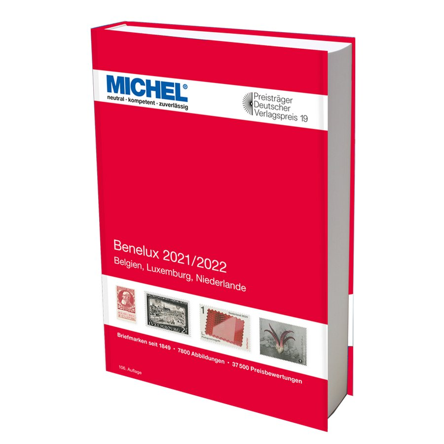 Michel Catalog Benelux 2021/2022 (E12)