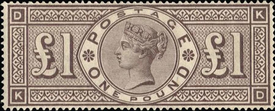 Brown Lilac Stamp UK