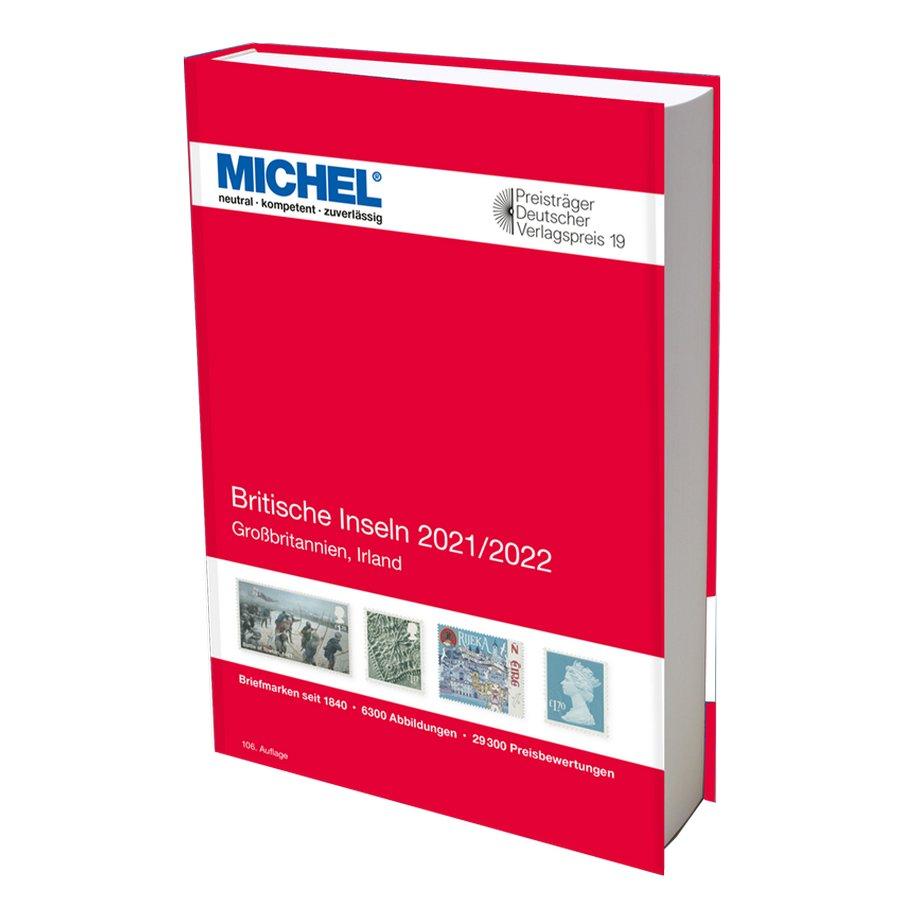 Michel Catalog Britische Inseln 2021/2022 (E13)