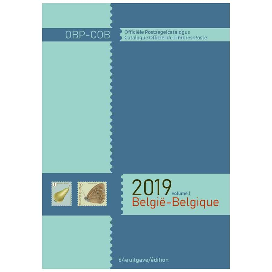 Catalogue Officiel Belge de Timbres-Poste 2019