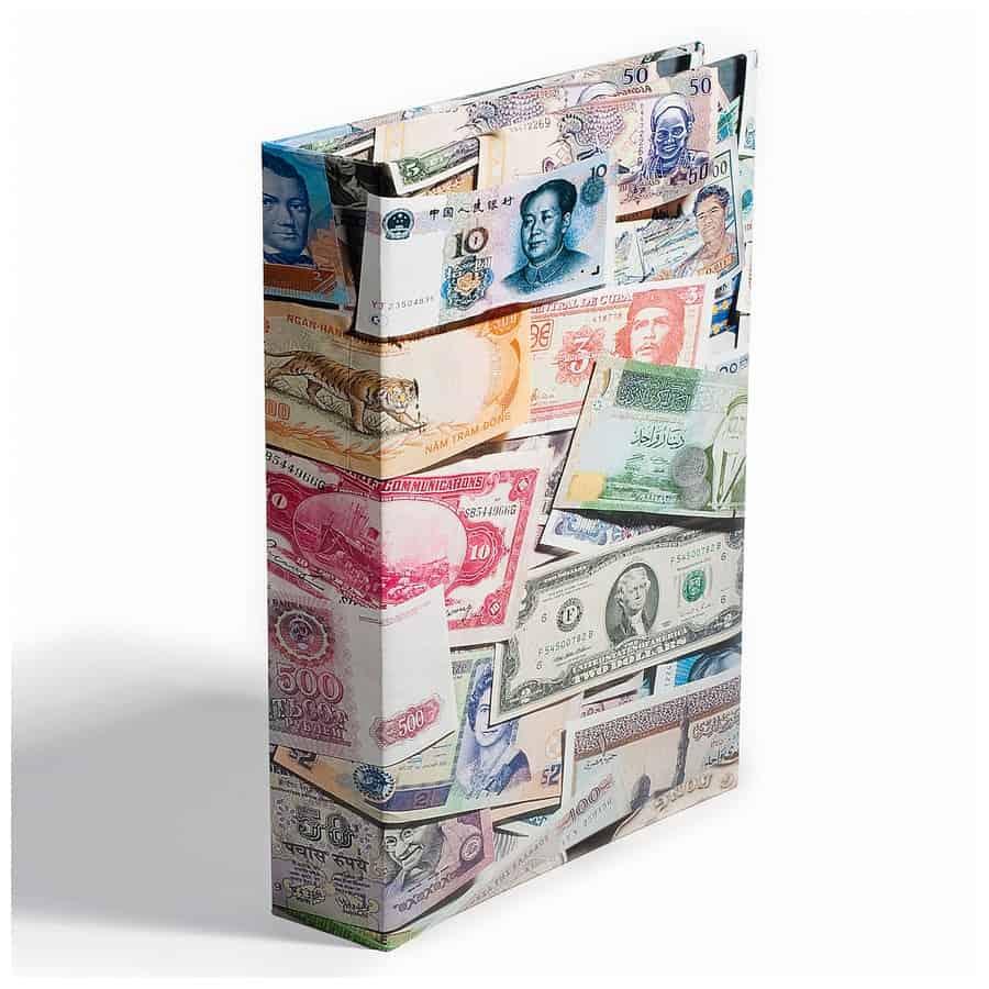 Leuchtturm Album BILLS for 300 banknotes