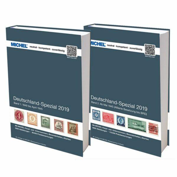 Michel catalog Deutschland Spezial 2019