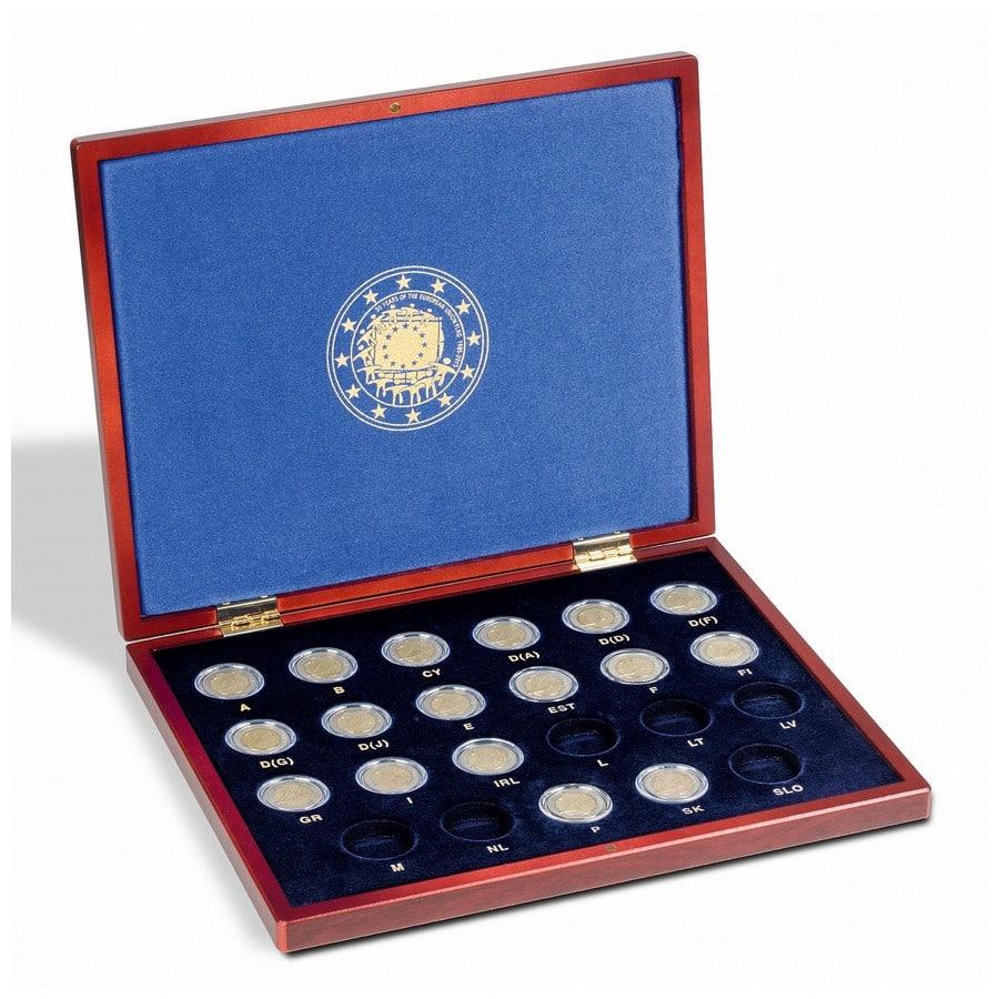 Leuchtturm VOLTERRA UNO 30 years EU flag 2-euro coins