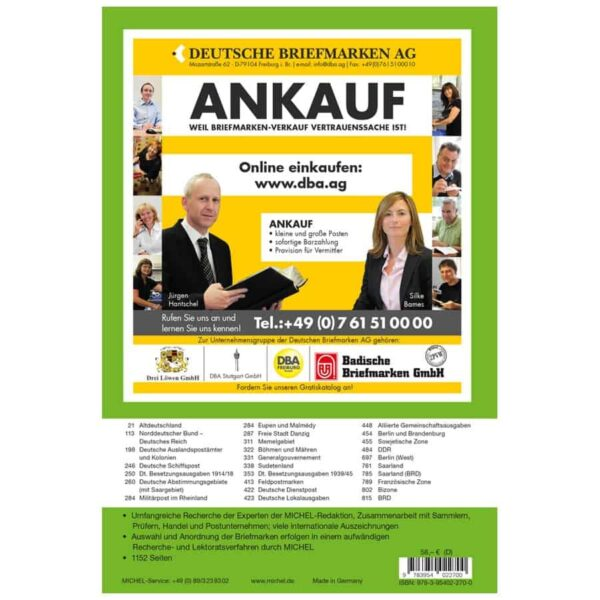 Michel Catalog Deutschland 2019-2020