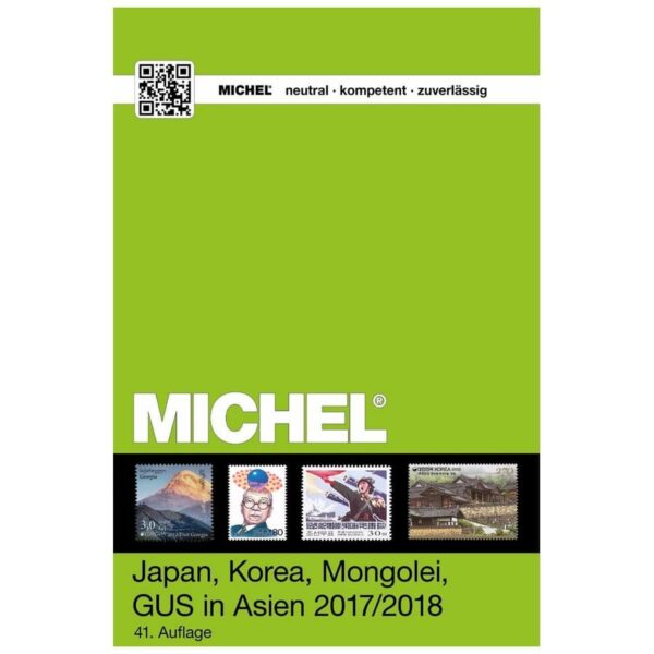 Michel Katalog Japan, Korea, Mongolei, Georgien, GUS in Asien 2017/2018 (ÜK 9/2)
