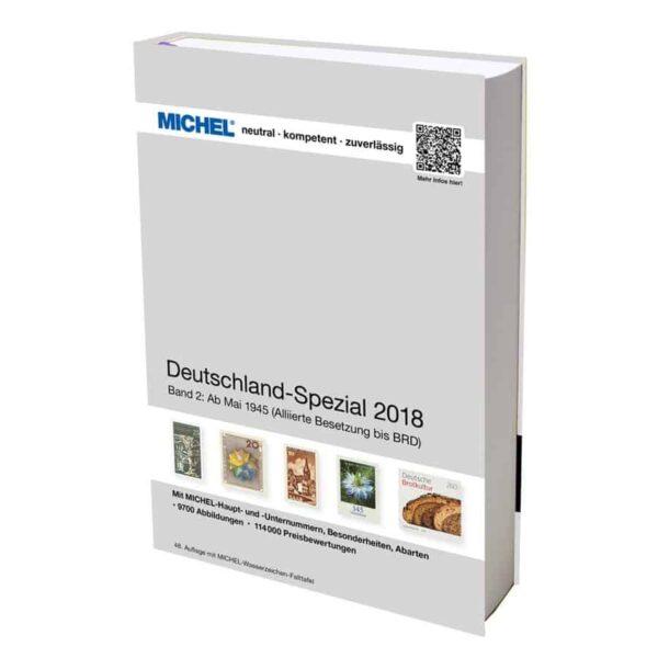 Michel Catalog Deutschland-Spezial 2018 Volume II Band II