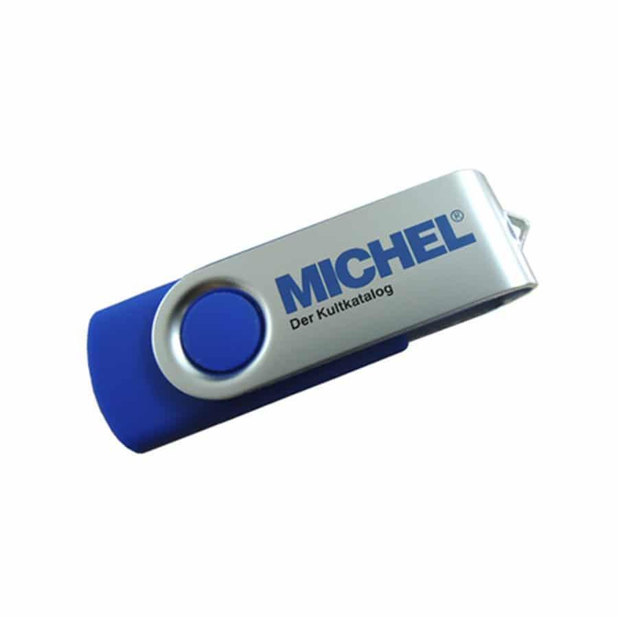 Michel USB Key Catalog Briefe Deutschland