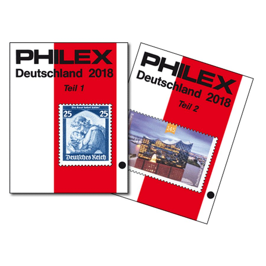 PHILEX Deutschland 2018 Catalog Volume I & II