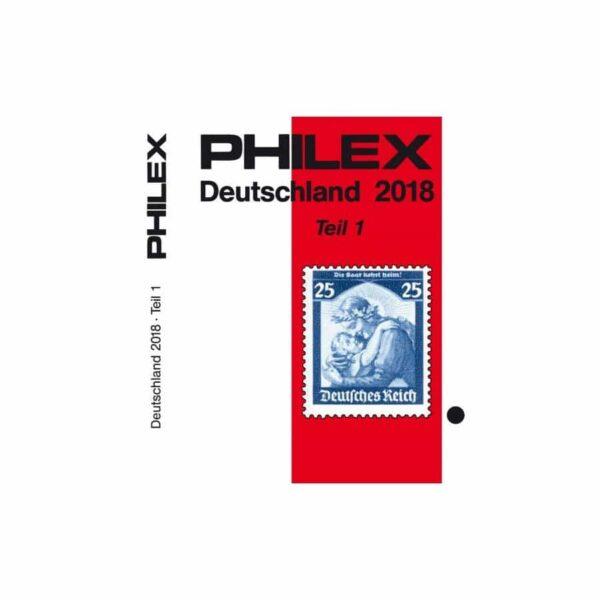 PHILEX Deutschland 2018 Catalog Volume I