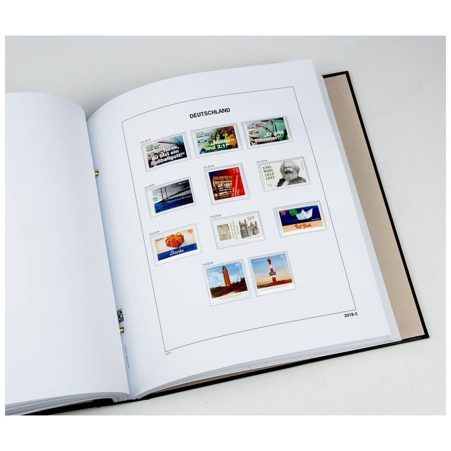 DAVO Year Supplement Pages Unified Germany