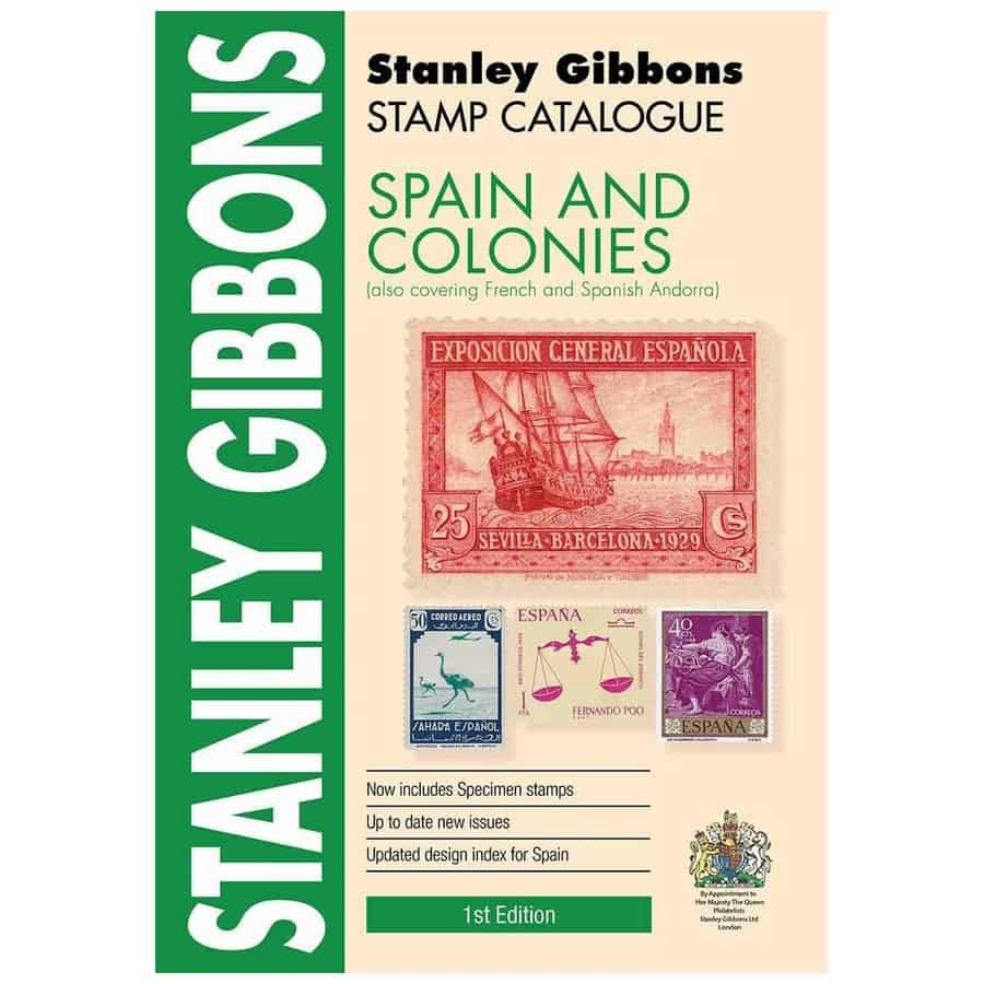Stanley Gibbons Spain & Colonies Stamp Catalogue 1st Edition
